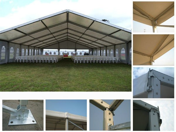 15m Clear Span Luxury Event Marquee Temporary Storage Tent for Sale