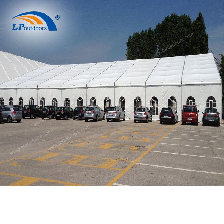 30X40m clear span Large Trade Show Exhibition Tent for 1000 People