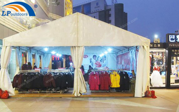 LPoutdoors Provided A Customized Promotion Tent With Logo For Event