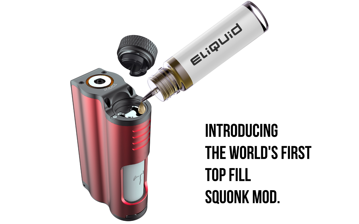 Topside topfill squonker