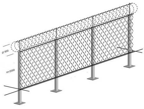 Flat Wrap Razor Wire - Buy flat razor wire, Flat Wrap Razor Wire ...