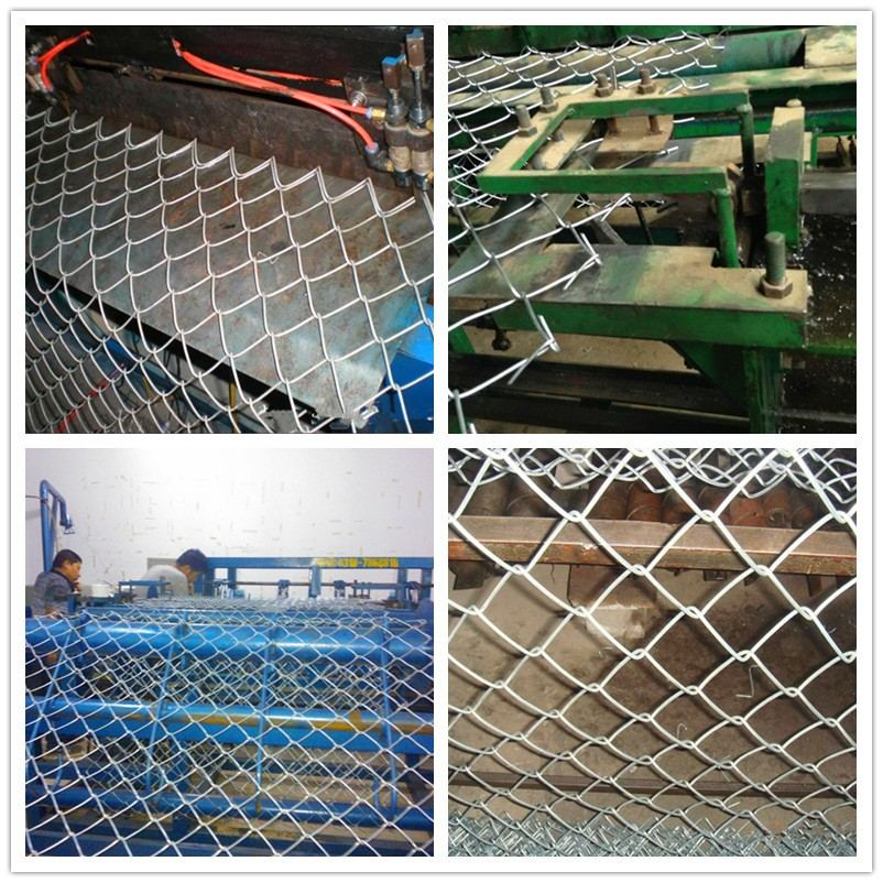 chain-link-fence-Producing-Line