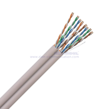 U/UTP Dual CAT 5E BC PVC Twisted Pair Installation Cable
