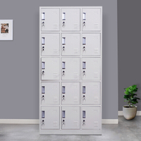 15 Door Metal Storage Locker