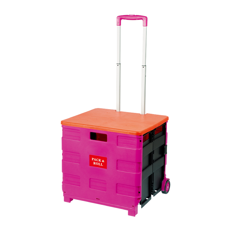 Mobile Folding Cart With Lid