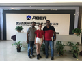 Welcome India customer come to visit Aoer