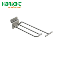 Euro U Shape with Swing Arm Slatwall Hook
