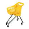 Plastic Children's Shopping Trolley