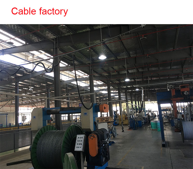 coaxial cable produce machine 4