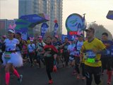 We took part in the 2017 Zhangjiagang International Marathon