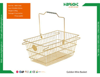 Golden Wire Basket