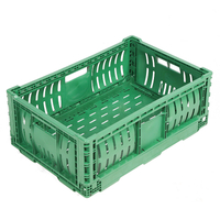 HDPE Plastic Foldable Collapsible Crate 6422B