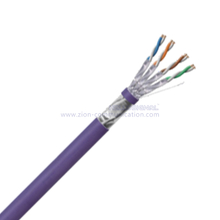 F/FTP CAT 6A BC PE Twisted Pair Installation Cable