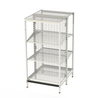 Outrigger style Gondola Shelving Retail store shelf