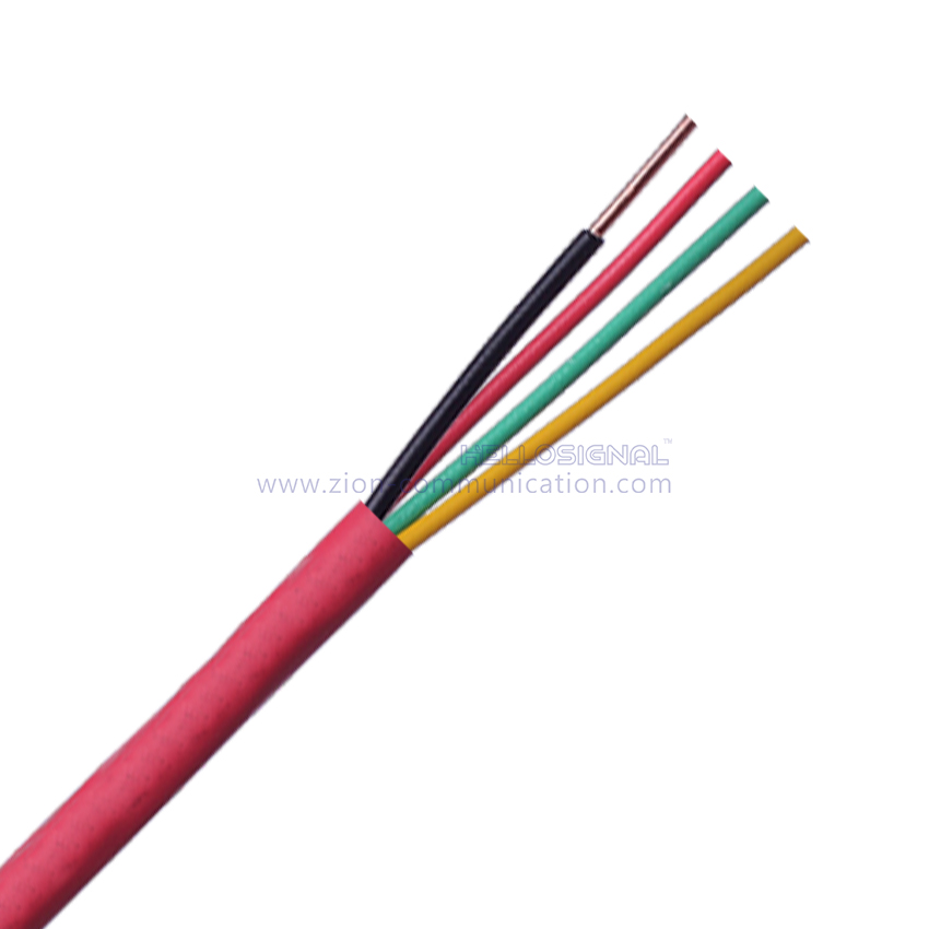 14AWG 4C SOL FPL Fire Alarm Cables - Buy fire alarm cable, 4 cores ...
