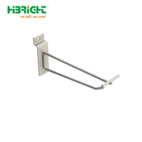 Single Prong Slatwall Hook With Swing Arm