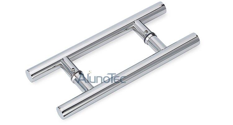 Chroming Stainless Steel Glass Door Handle Buy Stainless Steel
