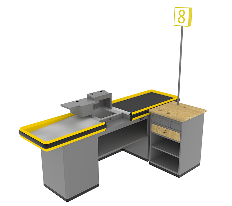 Inline Checkout Counter