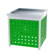Acrylic And Metal Orchard Bin