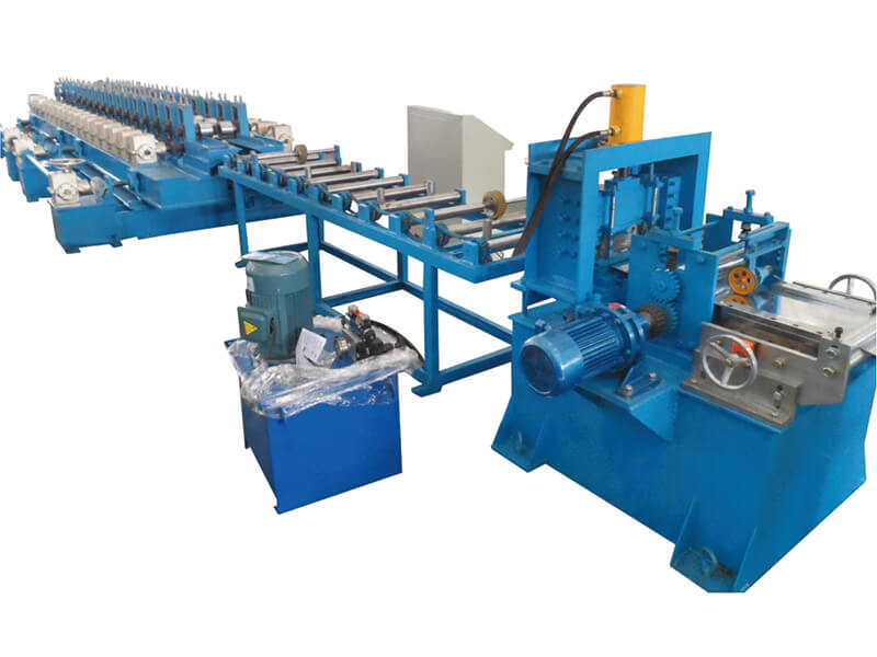 safety door frame roll forming machine-7
