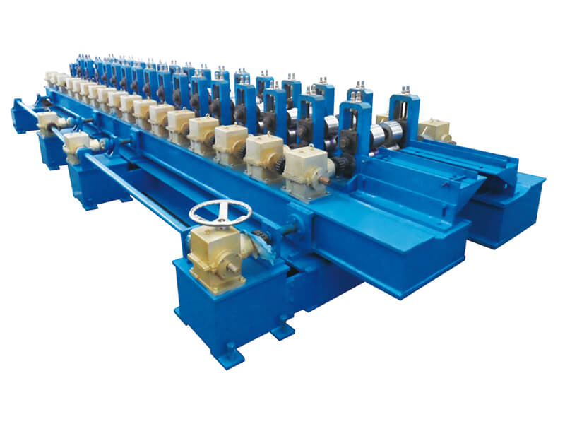 safety door frame roll forming machine-5