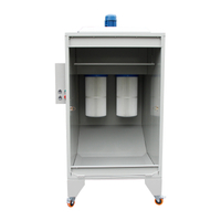 Powder spray booth COLO-1115