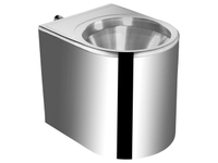 stainless steel wc pan