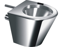 stainless steel toilet seat